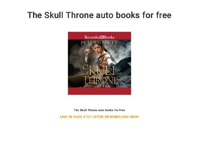 Peter V Brett Skull Throne Pdf