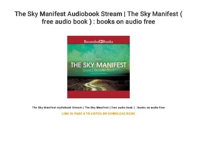 The Sky Manifest Audiobook Stream | The Sky Manifest ( free