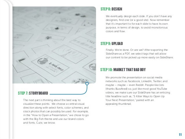 11 STEP 8: DESIGN STEP