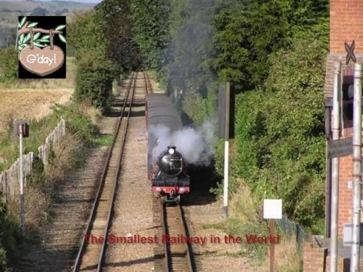 The Smallest Railway in the World<br />