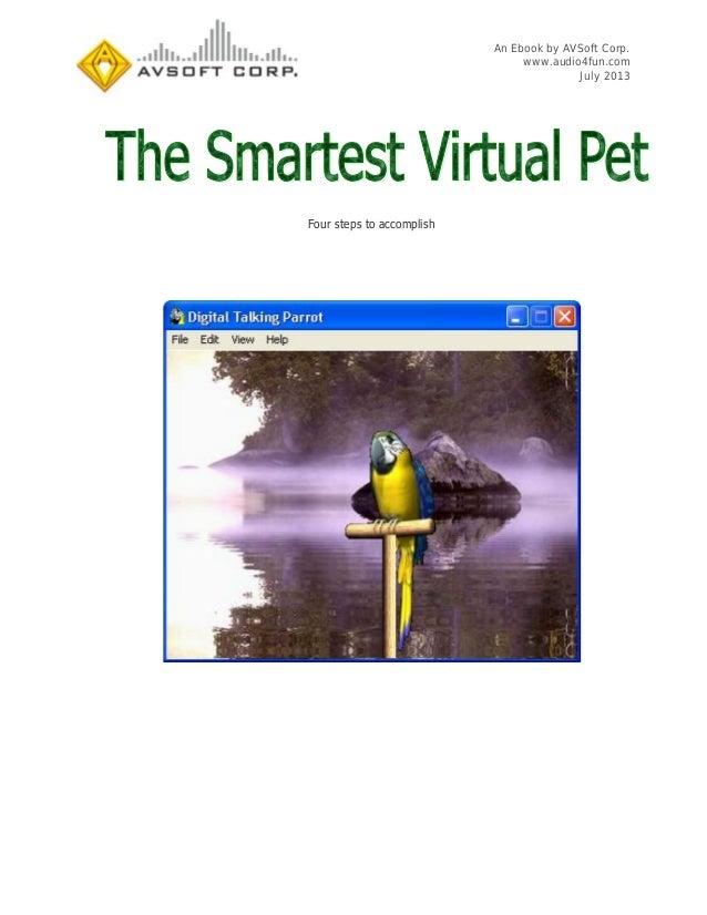 An Ebook by AVSoft Corp. www.audio4fun.com July 2013 Four steps to accomplish
