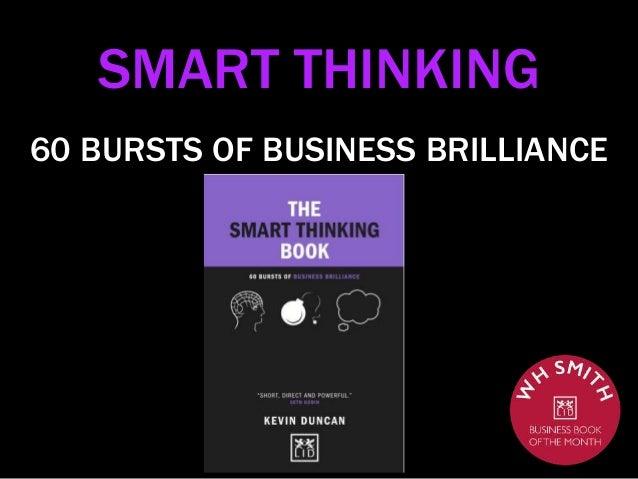 SMART THINKING 60 BURSTS OF BUSINESS BRILLIANCE
