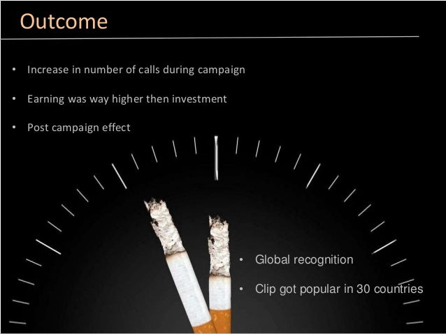 Case Study- Quit Smoking Essay - 2201 Words
