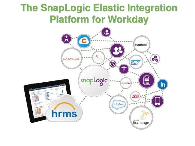 The SnapLogic Elastic Integration Platform for Workday