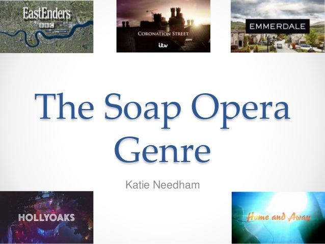 an analysis of the conventions the soap opera genre 2 essay A soap opera is an ongoing drama serial on television or radio, featuring the lives of many characters and their emotional relationships the term soap opera originated from radio dramas being sponsored by soap manufacturers bbc radio's the archers, first broadcast in 1950, is the world's longest-running radio soap opera the world's longest-running television soap opera is coronation.