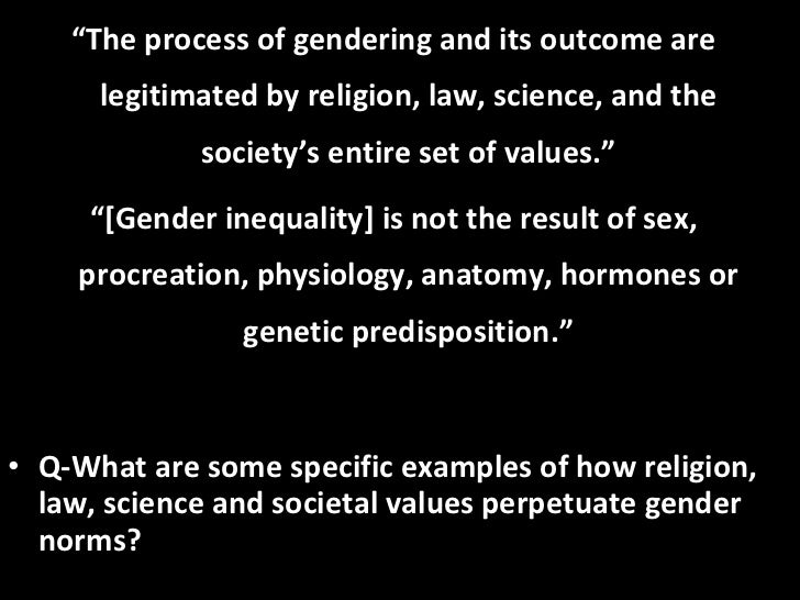 essays on social construction of gender Theresa - wst 101 social construction social construction is the morals and values, beliefs and norms that are made based on the society one lives in morals, beliefs and norms shape the way we are such as personality, identity and gender roles.