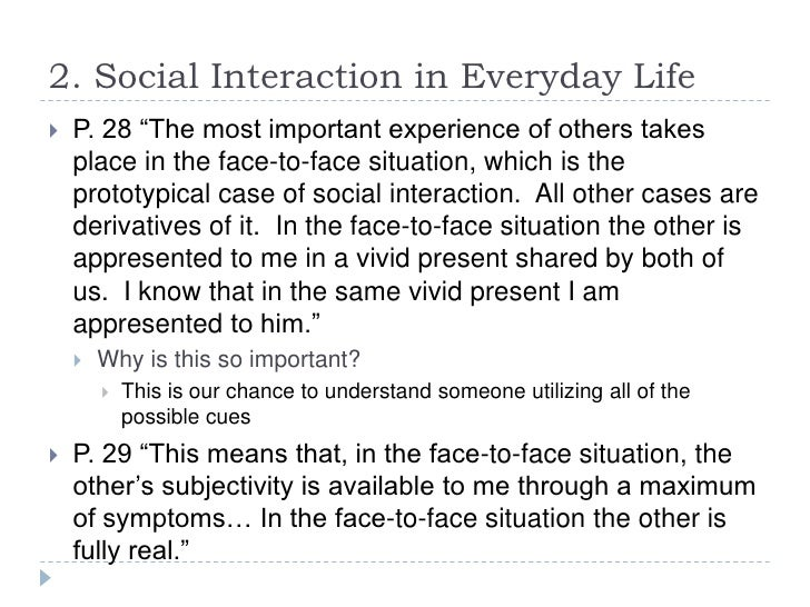 city living and social interaction Aging matters chapter eleven: community well-being: living arrangements and social interactions dr babcock.