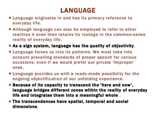 social construction of reality tutorial sophia learning