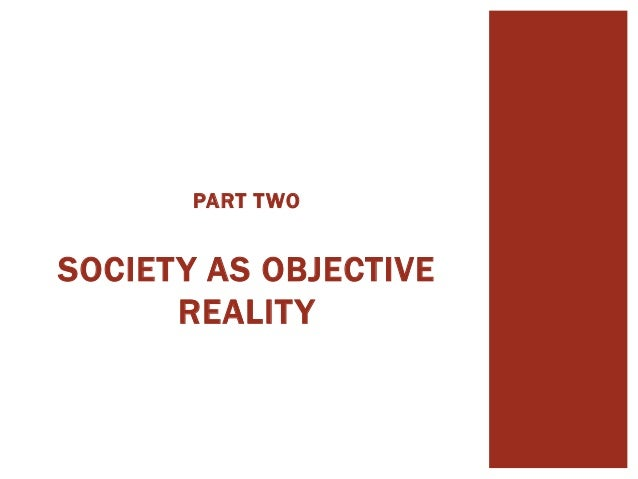 the social construction of reality pdf
