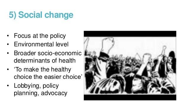 The social context of public health