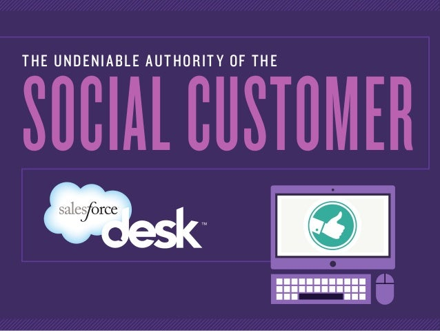 THE UNDENIABLE AUTHORITY OF THE SOCIALCUSTOMER