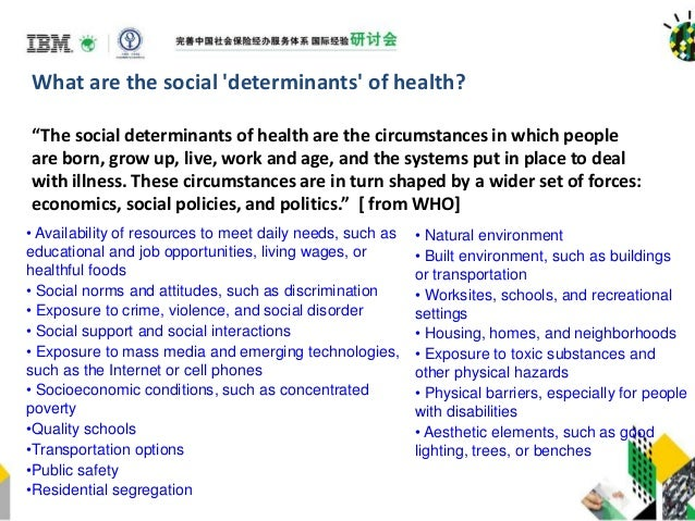 changing the social determinants of health essay The four determinants of health health and social care essay print reference this  published: 23rd march, 2015  disclaimer: this essay has been submitted by a student this is not an example of the work written by our professional essay writers you can view samples of our professional work here any opinions, findings, conclusions or.