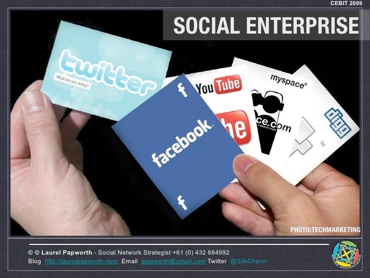 CEBIT 2009                                                   SOCIAL ENTERPRISE                                            ...