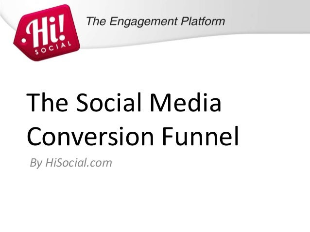 The Social MediaConversion FunnelBy HiSocial.com