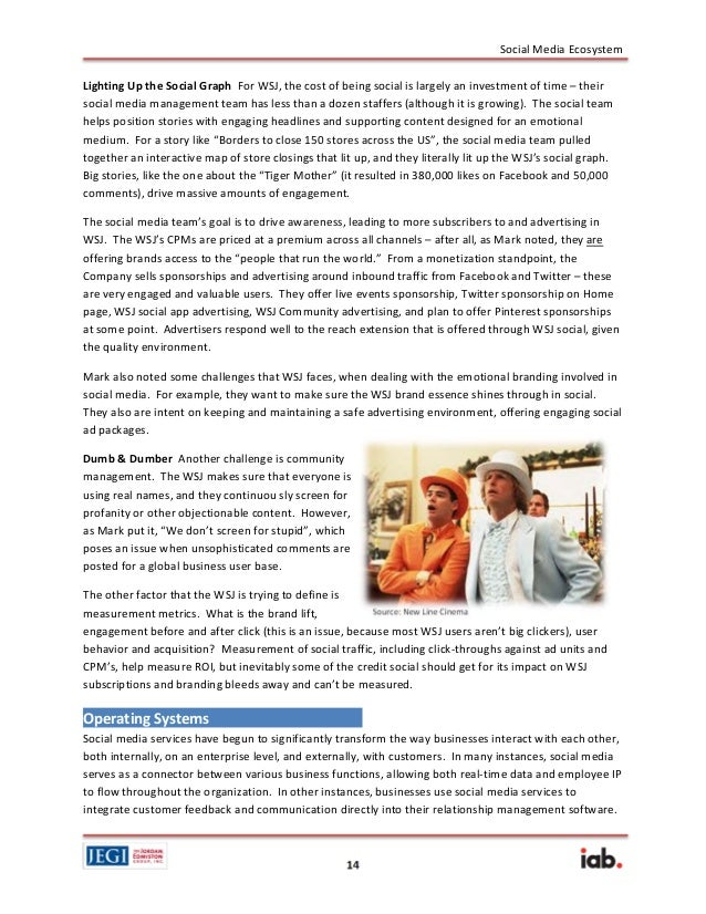ecosystem report example