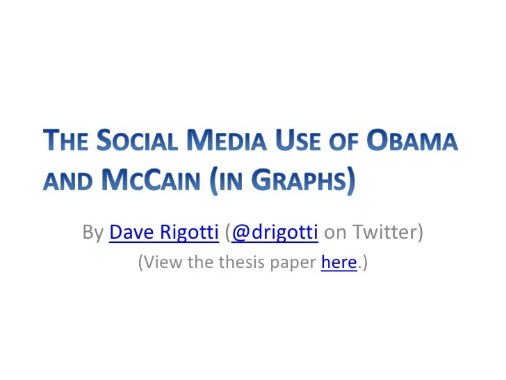 By Dave Rigotti (@drigotti on Twitter)       (View the thesis paper here.)