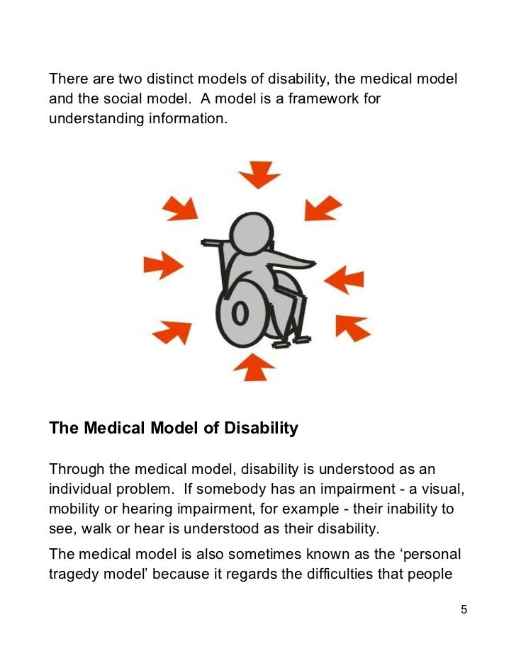 the social model and the medical model of disability essay I aim to provide the reader with an overview of two prominent models of disability: the medical model and the social medical and social models of disability essay.