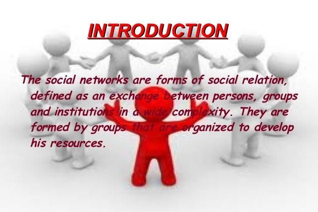 The social networks Slide 3