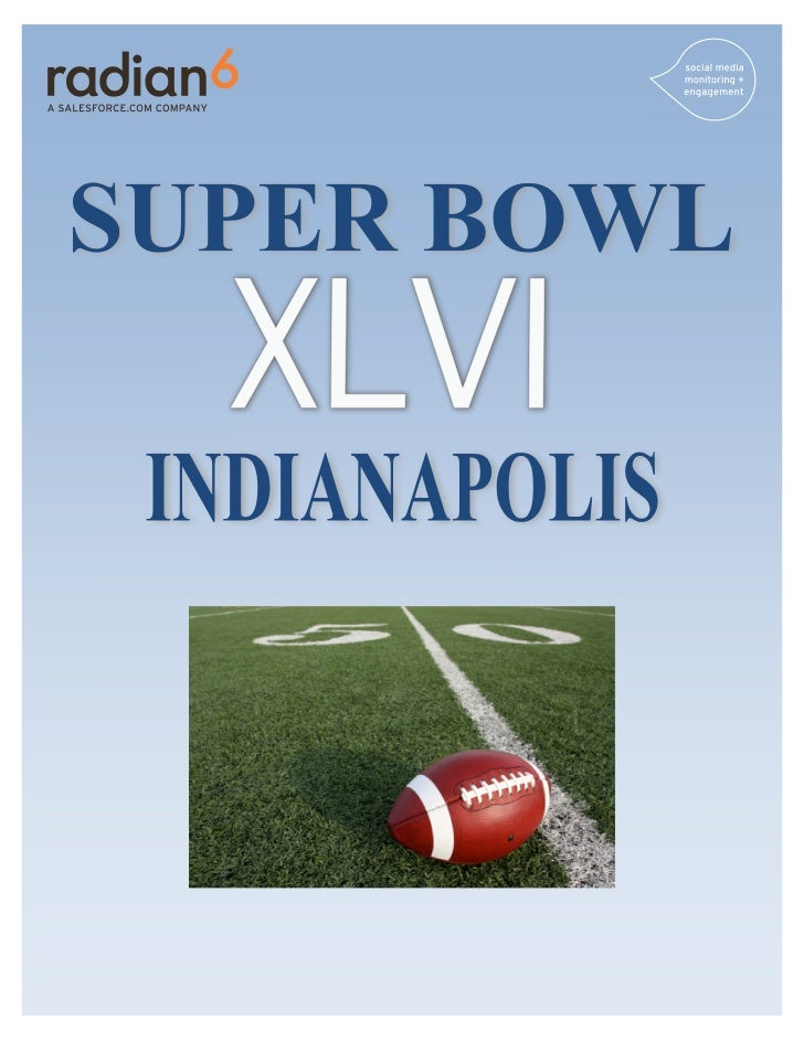 WELCOME TO THE SOCIAL BOWLSuperbowl XLVI has marked some interesting growth in the social sportsrevolution. Not only are t...