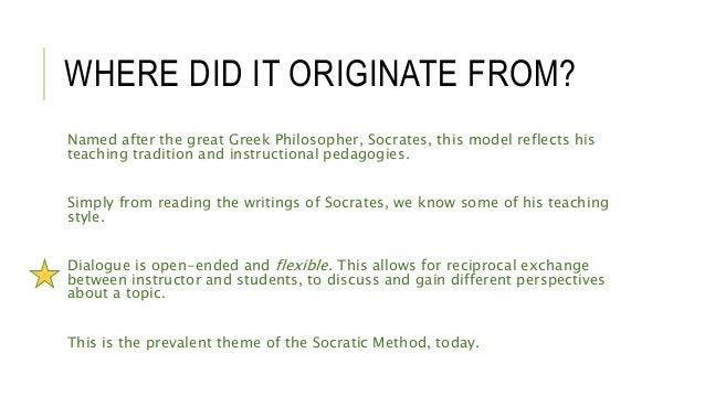 the athenian debate versus the socratic methods of dialog When athens met jerusalem has 80  socratic, platonic and  this book was not the book i was expecting to read--it is an overview of athenian philosophical.