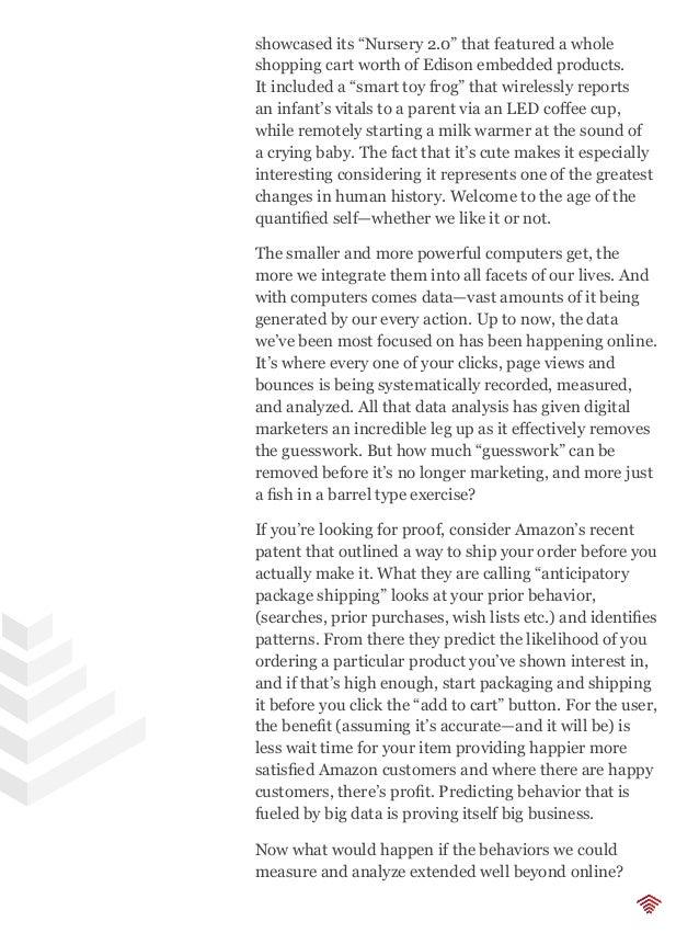 The SoDA Report (Volume 1, 2014)