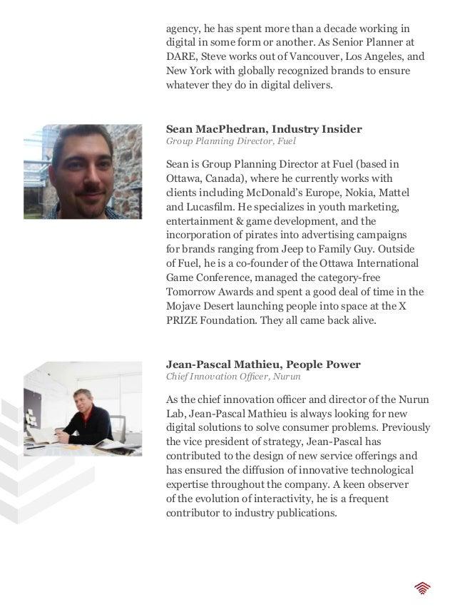 Zachary Jean Paradis, Tech Talk Director Innovation Strategy, SapientNitro Zachary Jean Paradis is an innovation strategis...