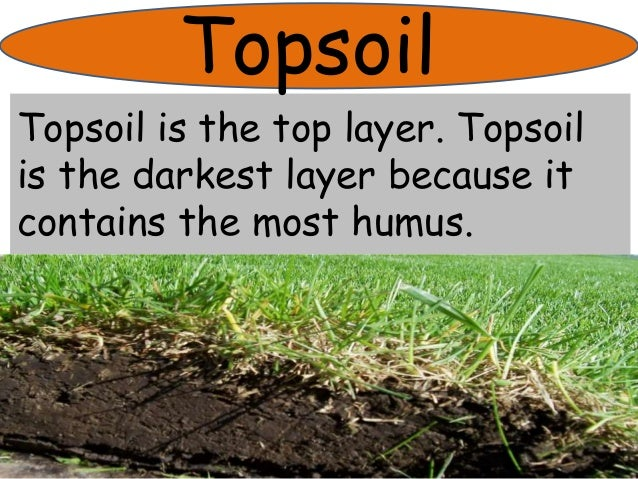 The soil for Top layer of soil