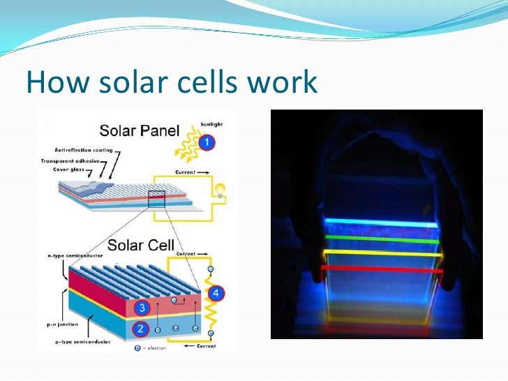 How solar cells work<br />