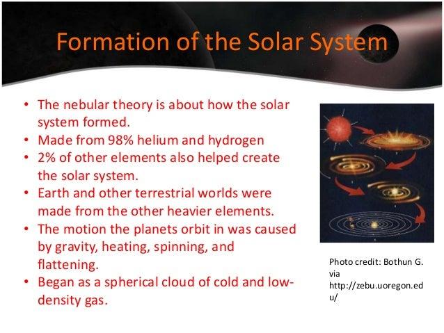 The solar system - Phoenix University Guide