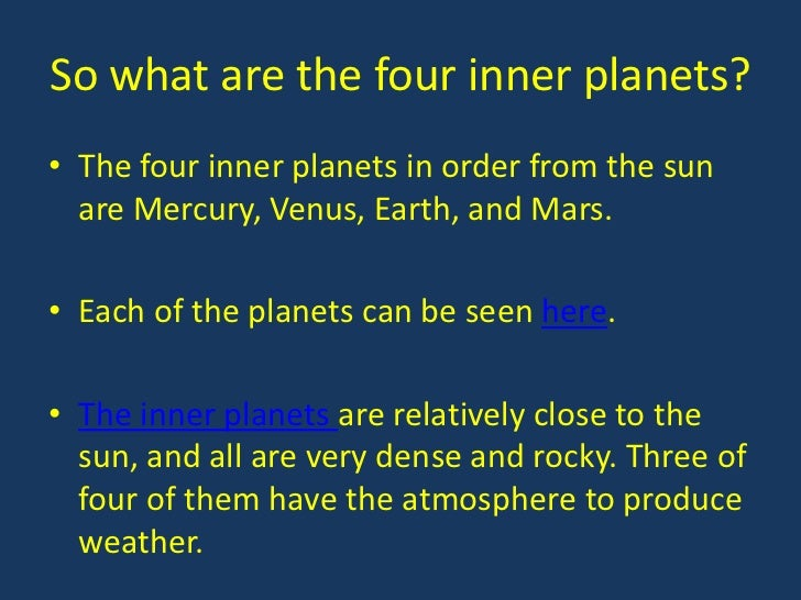acronym for planets in order - photo #11