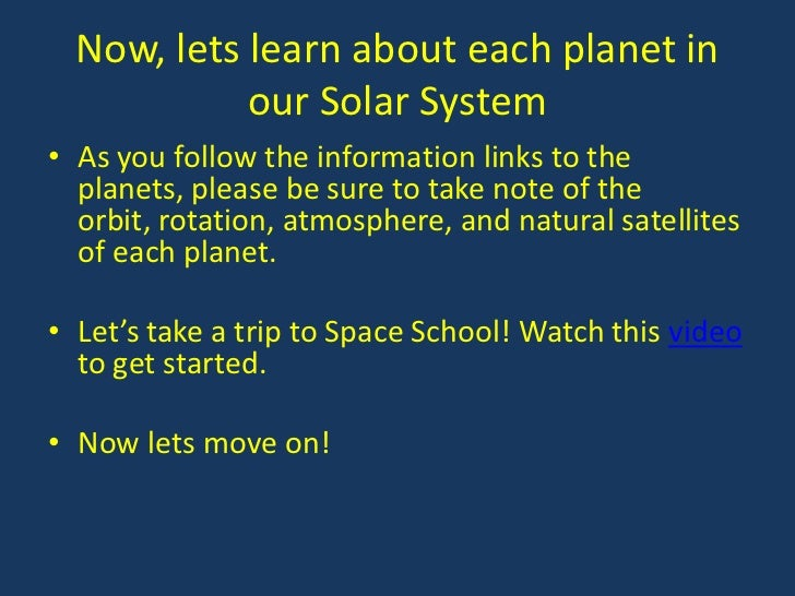 6th grade solar system powerpoints - photo #2