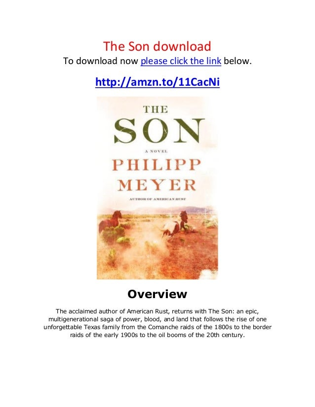 the son philipp meyer epub
