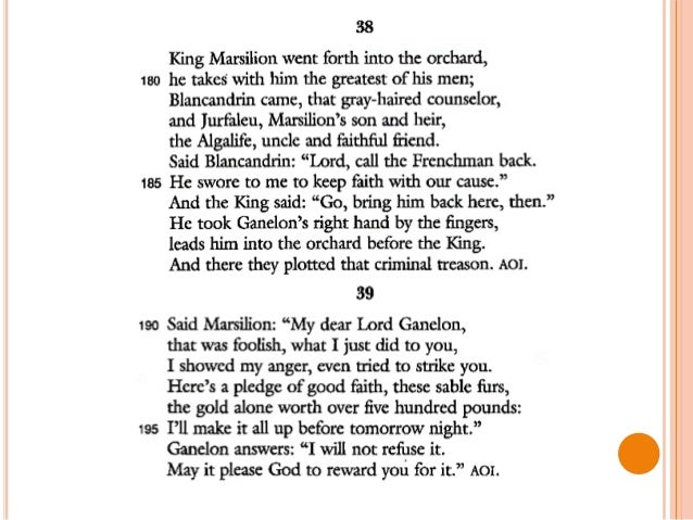a paper on good and evil in the song of roland Forth goes that king, and stays beneath a pine barons he calls, good  now  must we each lay on most hardily, so evil songs neer sung of us shall be pagans .