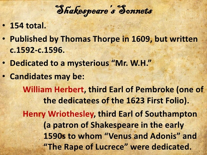the corruption of youth and beauty in sonnet 95 by william shakespeare Analysis of shakespeare's sonnet 95 with critical notes  an expression which  seems to agree very well with the youth of william herbert, now about nineteen.