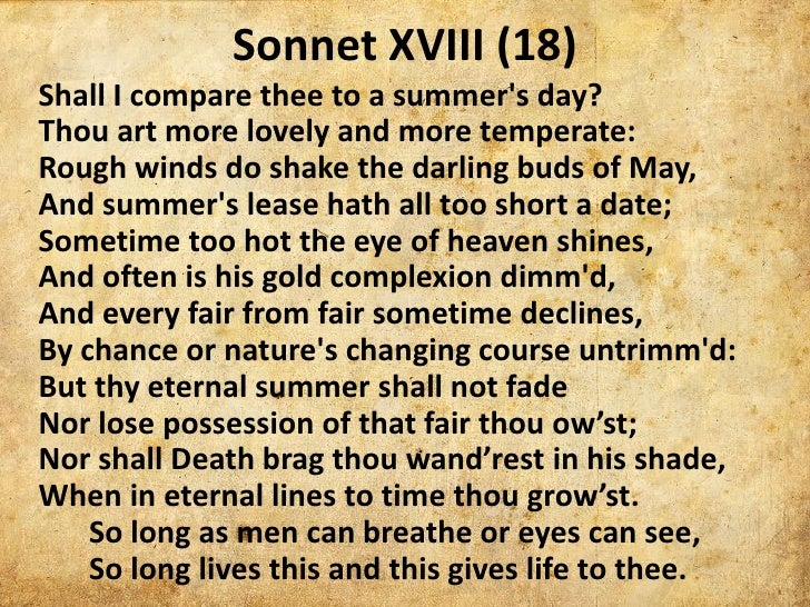 response to sonnet xxvii by william List of illustrations xxvii ' parti getting started: from response to argument 1 chapter the writer as reader 1 reading and william shakespeare sonnet 73.