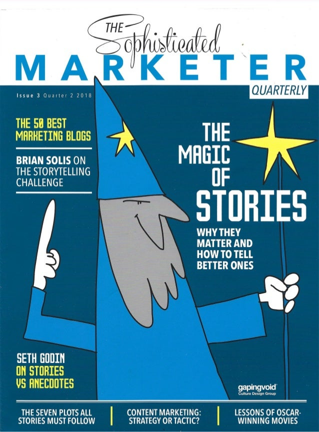 The Magic of Stories: How Storytelling Can Save Marketing