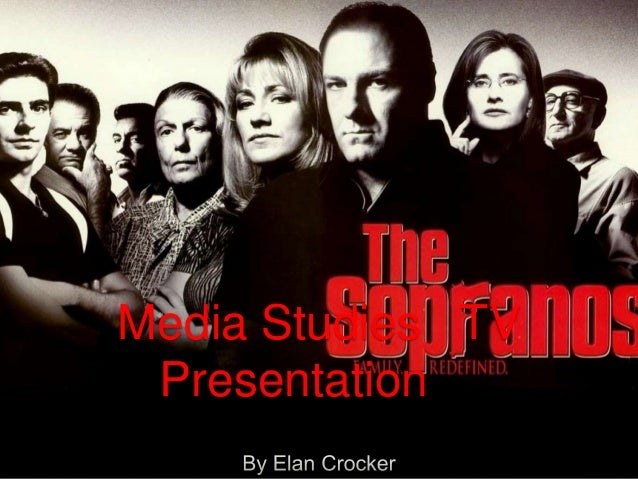 Media Studies TV Presentation