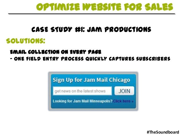 jmc soundboard case study solution