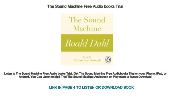 the sound machine book