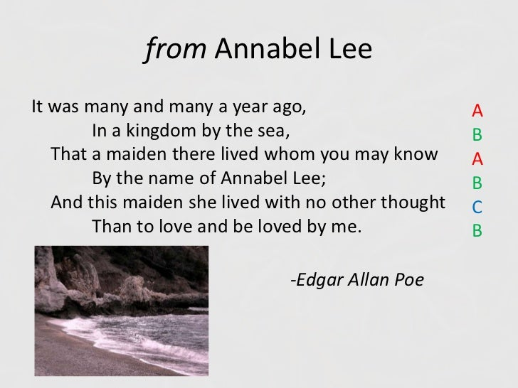 annabel lee and romanticism Edgar allan poe writes annabel lee in the most unique tone, as was one of trademarks when the poem begins, it sounds like a fairy tale and gives the reader a feeling of all that is good and happy.