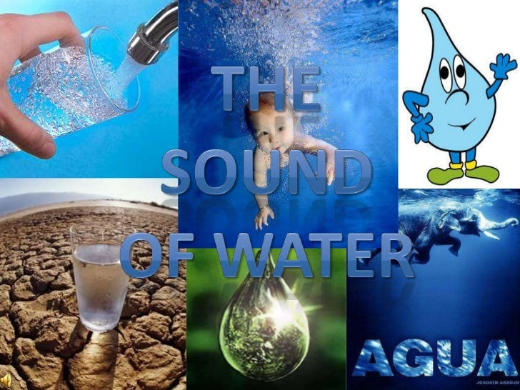 The sound <br />of water<br />