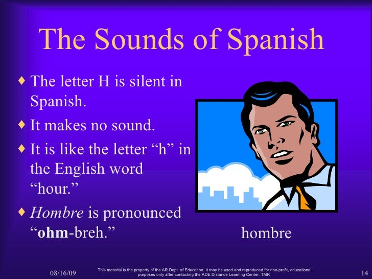 which letter is silent in spanish the sounds of 24152