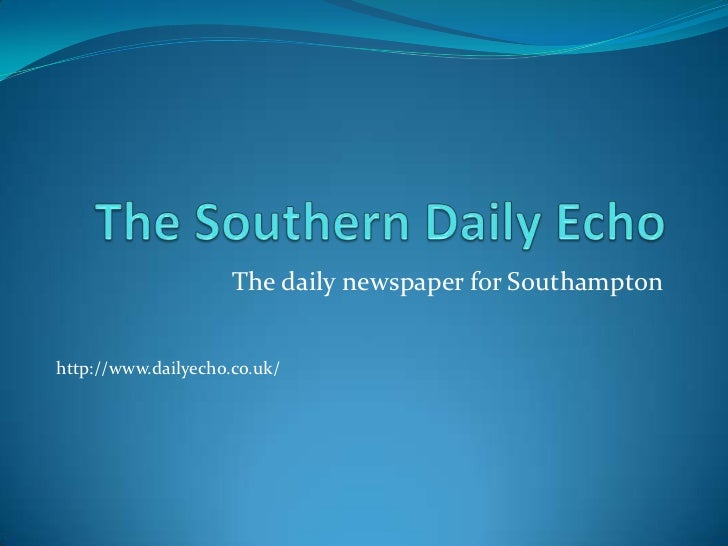 The daily newspaper for Southamptonhttp://www.dailyecho.co.uk/