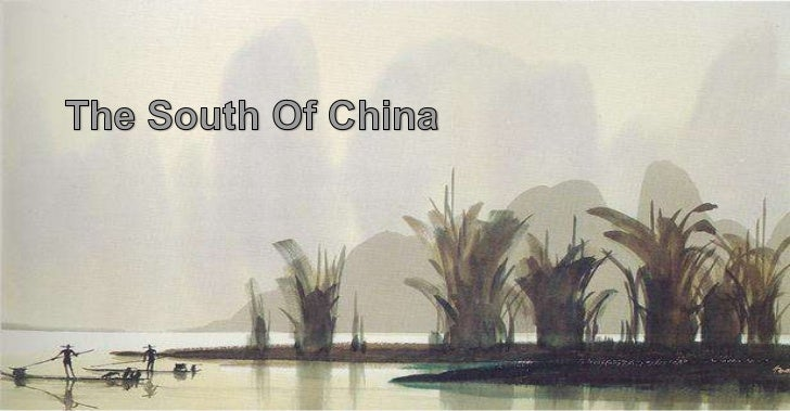 The south of china