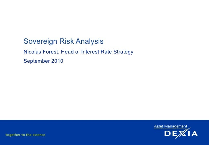 The Sovereign Risk