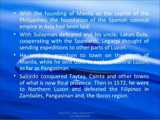 colonization of the philippines The history of the philippines from 1521 to 1898 however, the treaty did not stop the colonization of the philippine archipelago from new spain.