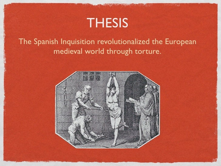 the widespread impact of the spanish inquisition on various types of vernacular Evangelical ideas were therefore widespread calvinism became part of a national war against spanish rule, while the reformation the impact of the reformation.