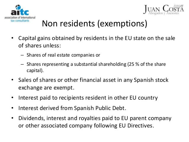 Tax system in spain