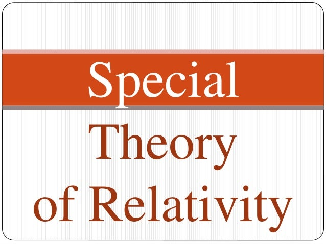 B Tech sem I Engineering Physics U-III Chapter 1-THE SPECIAL