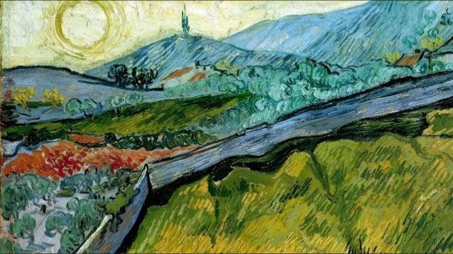 """Fasciné par la qualité de la lumière et l'ardente beauté des paysages qu'il découvre à Saint Rémy … """"A travers la fenêtre ..."""